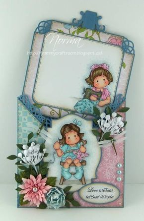 Tailor Tilda and Tilda Makes a blueberry blanket, Turning Leaves Collection, Magnolia stamps