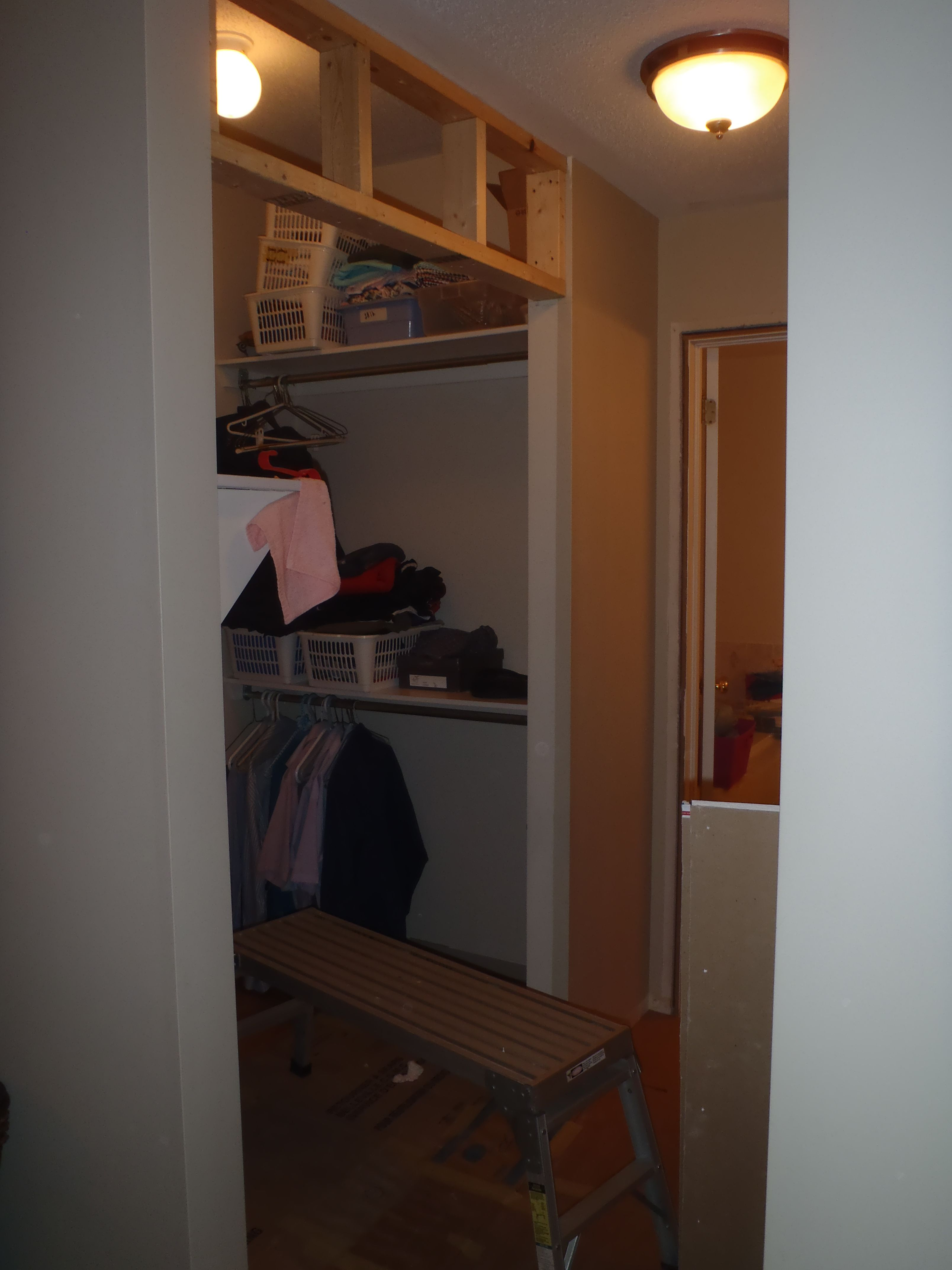 1 Custom Closets This Closest Had A Floor To Ceiling Sliding Door