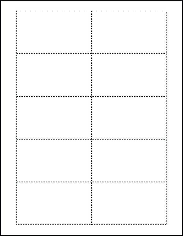 Free Blank Business Card Template Word 1 Templates Example Templates Example