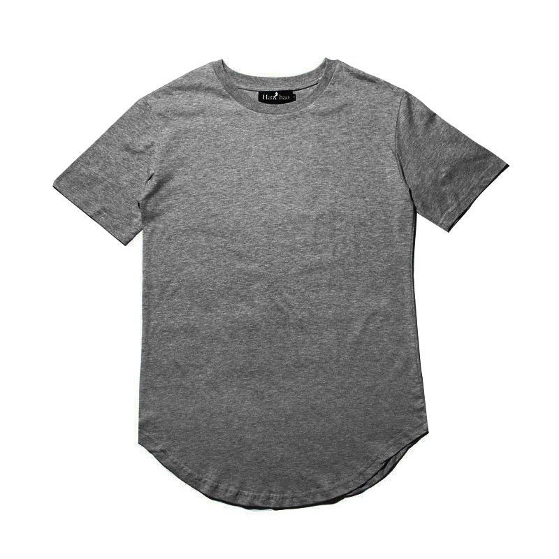 2016 Summer Kanye West Extended T Shirt Men Kpop Curve Hem Longline Hip Hop Tshirts Plain Urban Mens Tee Clothes Just Mens Tshirts Mens Tee Shirts Mens Outfits