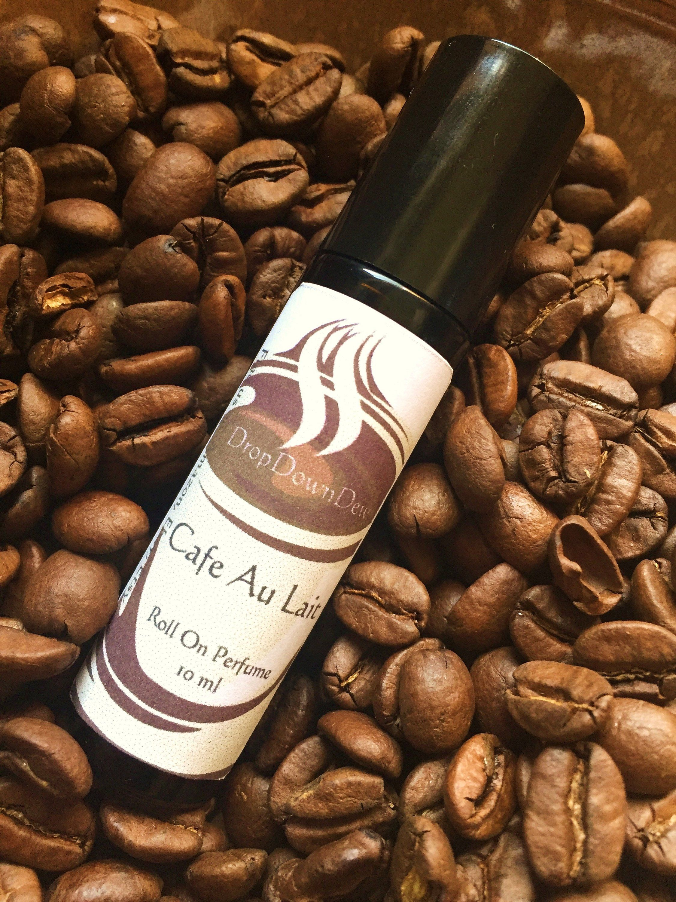 Cafe Au Lait Perfume Oil Roll On Perfume Coffee Scented