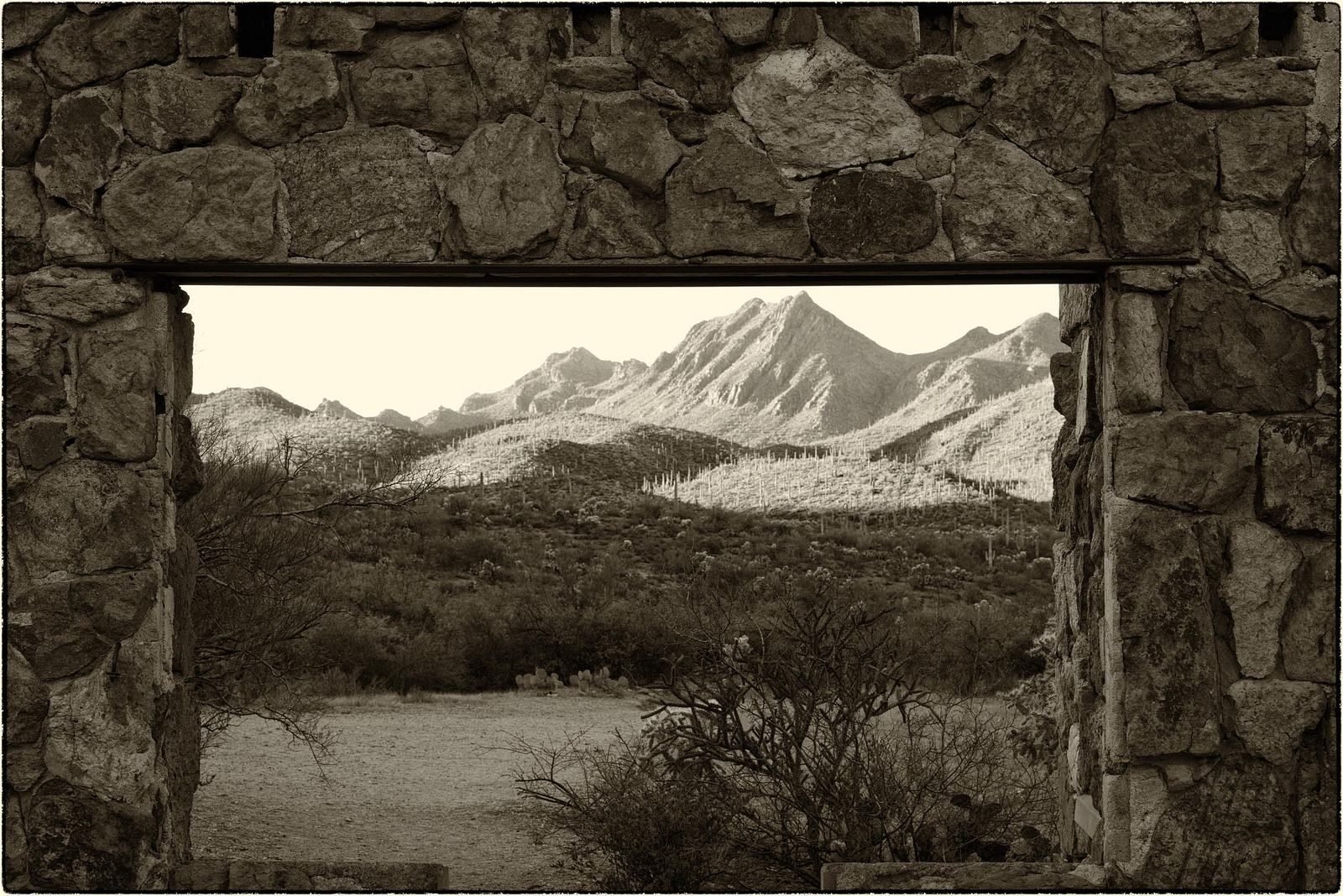 House on the rock flickr photo sharing - View From The Bowen Stone House Tucson Az Flickr Photo Sharing