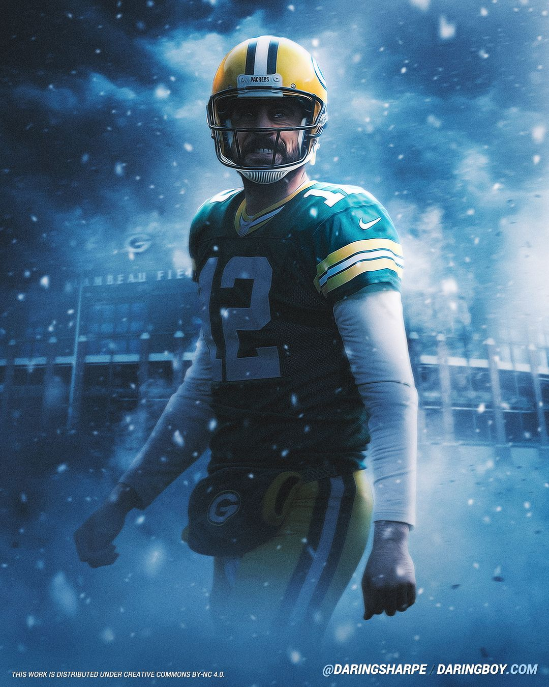 Aaron Rodgers Green Bay Packers In 2020 Green Bay Packers Wallpaper Green Bay Packers Logo Green Bay Packers Football