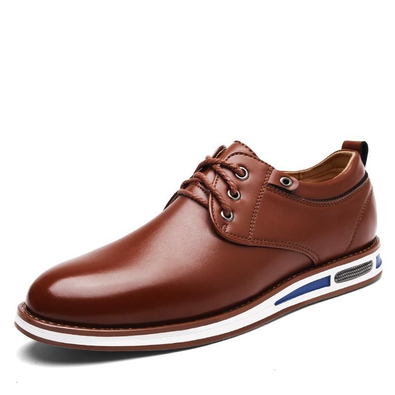 Oxford shoes men, Casual leather shoes