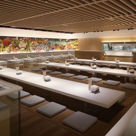 Yotel Ny Softroom Rockwell Group Bar Design Restaurant Restaurant Interior Hotel Interior Design