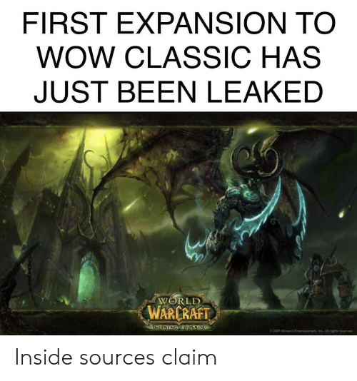 Is Burning Crusade Future Of Past Of WoW ? :D