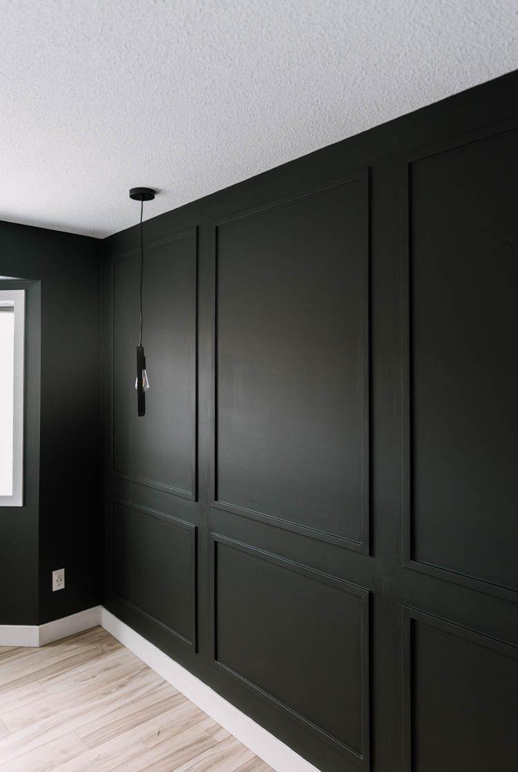 40 Modern Home Diys Lemon Thistle Diy Molding Master Bedroom Diy Wall Molding