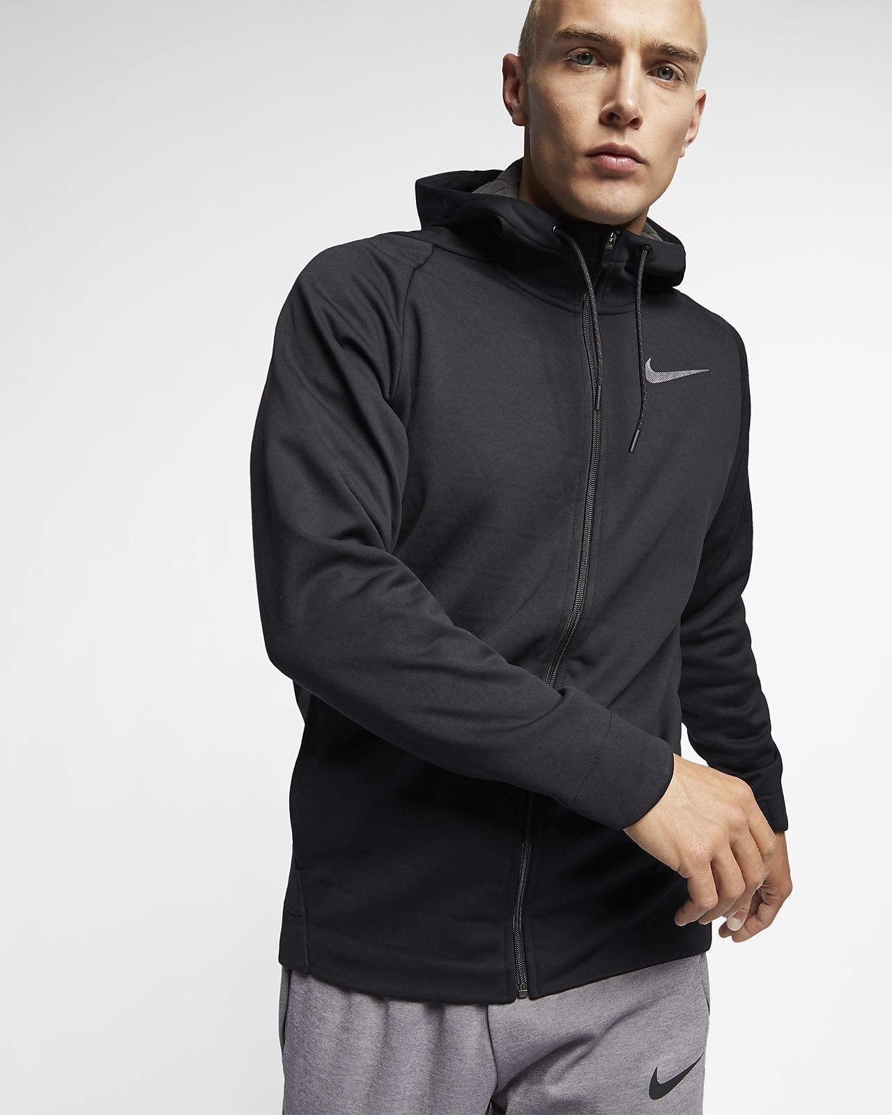 Nike Men's Hooded Full Zip Training Jacket Therma | Clothes