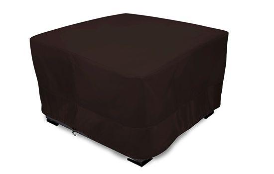 Patio Square Table Cover Mocha Brown