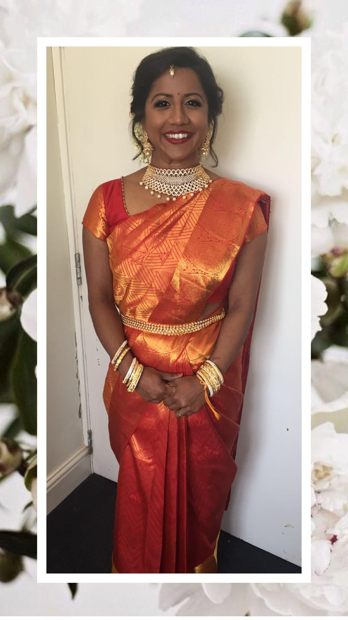 Tamil Hindu Bride South Indian srilankan jasmine flowers