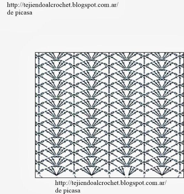PATRONES - CROCHET - GANCHILLO - GRAFICOS: SEGUIMOS CON LA COLECCION ...