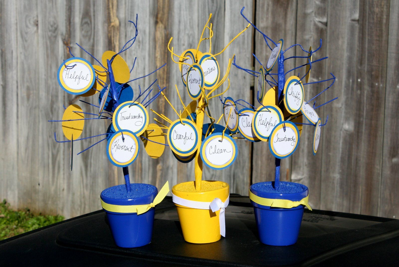 Lindylu designs cub scout blue and gold banquet