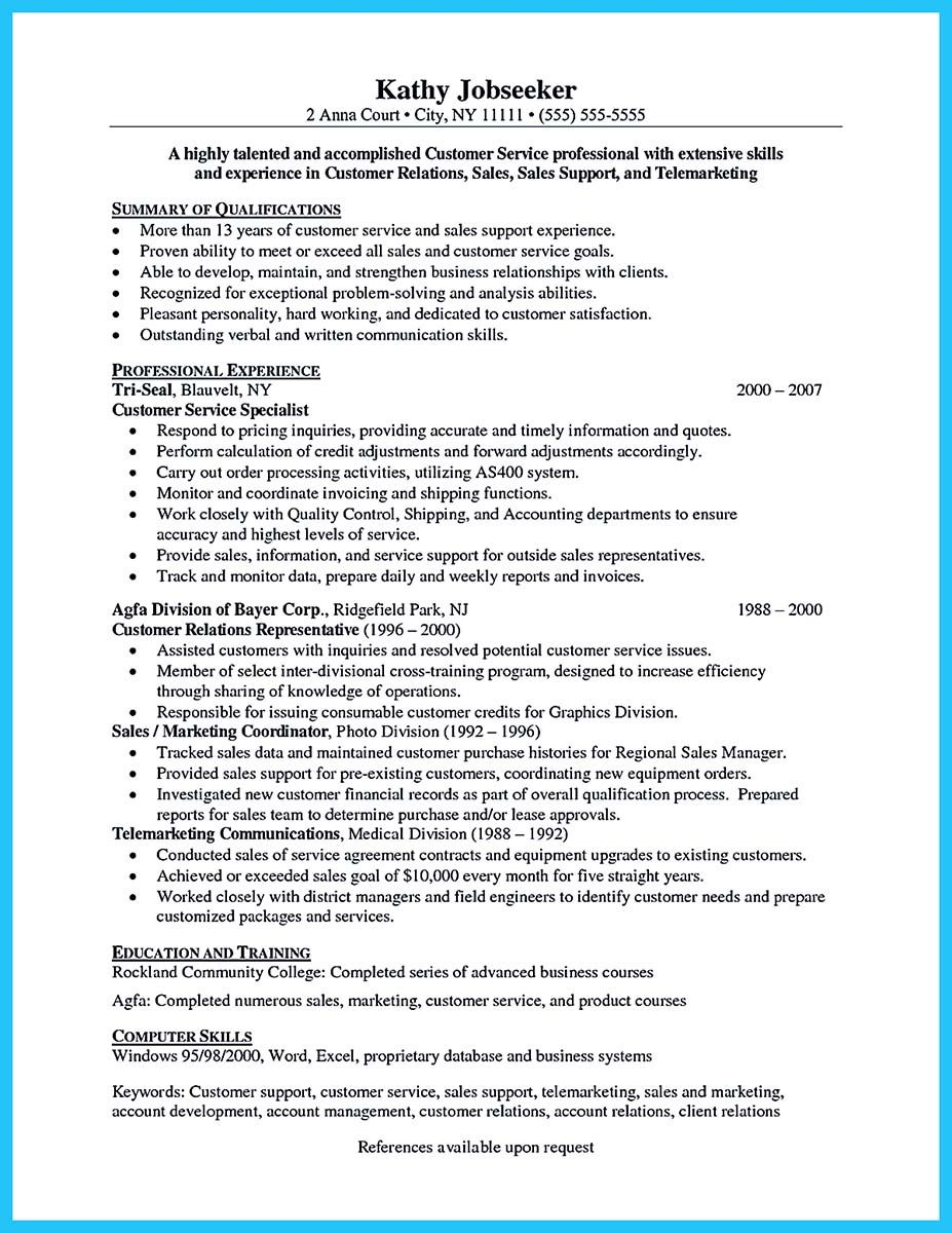 Awesome Well Written Csr Resume To Get Applied Soon Check More At Http Snefci Org Well Written Csr Resume Get Appl How To Apply Resume Customer Service Jobs