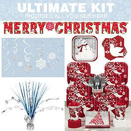 Frosted Holiday Ideas, Supplies and Decorations   WholesalePartySupplies.com