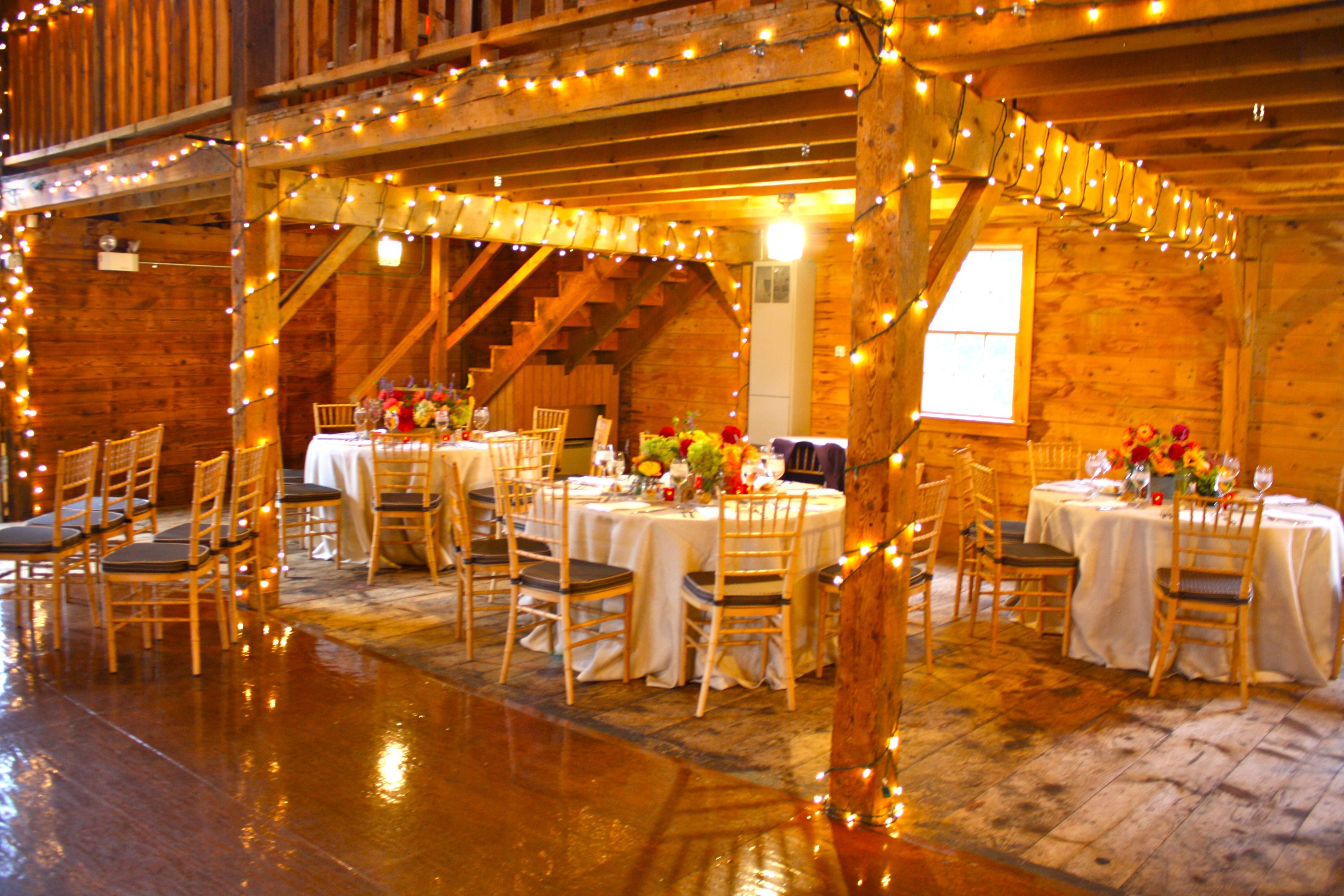 Wedding venue decoration images  Incredibly beautiful fall wedding in a barn  Wedding Ideas