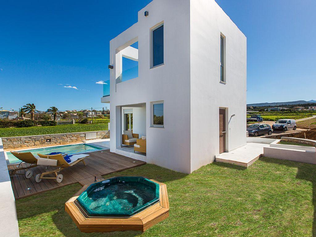 Pigi villa rental - Thalasses villas are still under construction. Opening date will be on 15 of May