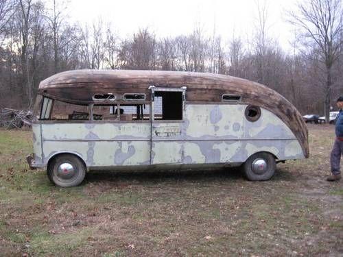 4 Sale 1947 Packard Prigg Motorhome This Would Be Sooo Cool Restored