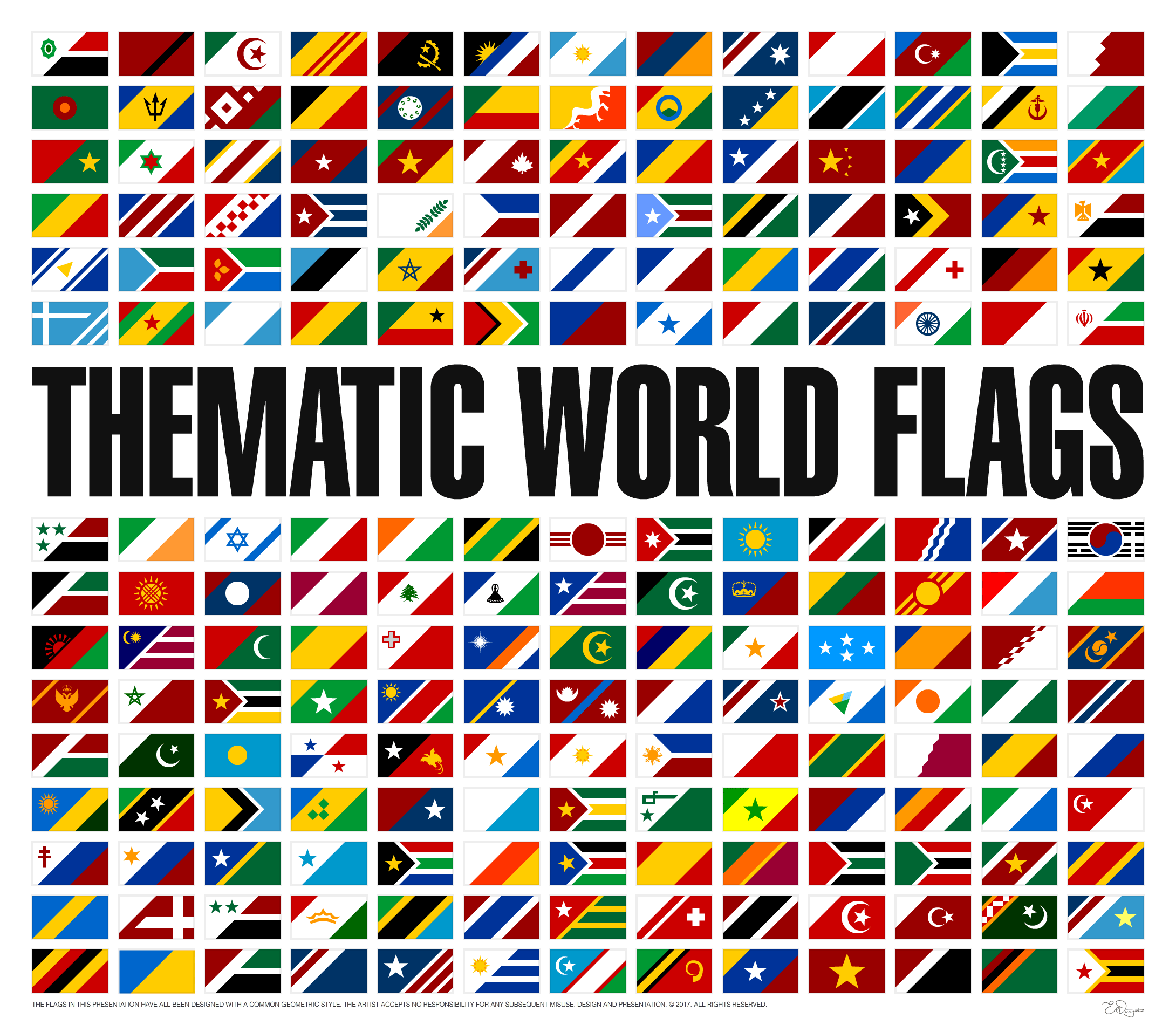 Thematic World Flags In 2020 Flag Flags Of The World Thematic
