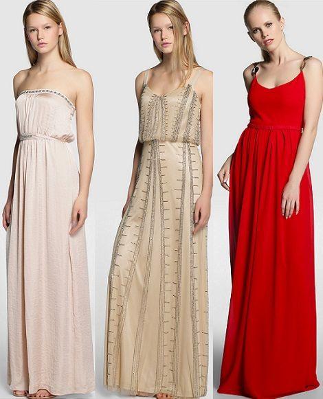 Colores vestidos de noche invierno 2014