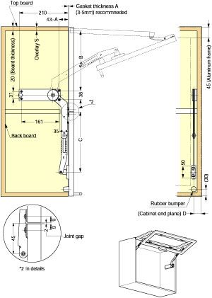lock system for a vertical bifold panel - Google Search | Workshop ...