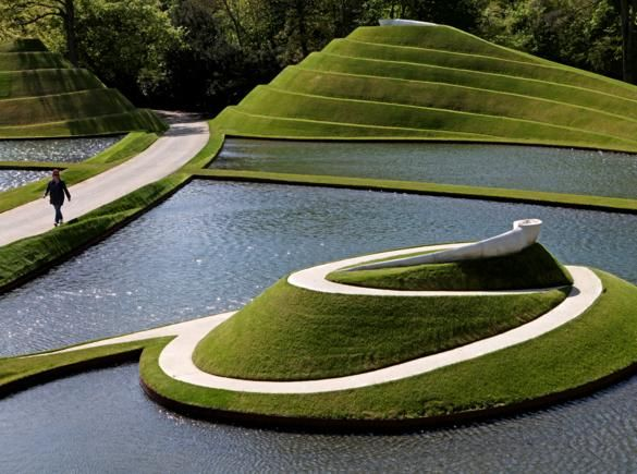 Charles Jencks Garden of Cosmic Speculation Architecture
