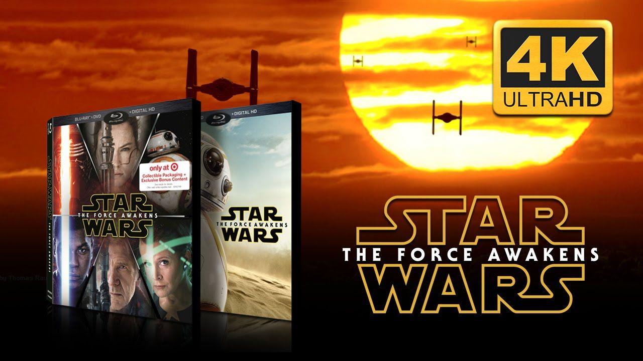 Star Wars: The Force Awakens 'Bring It Home' Trailer (4K UHD
