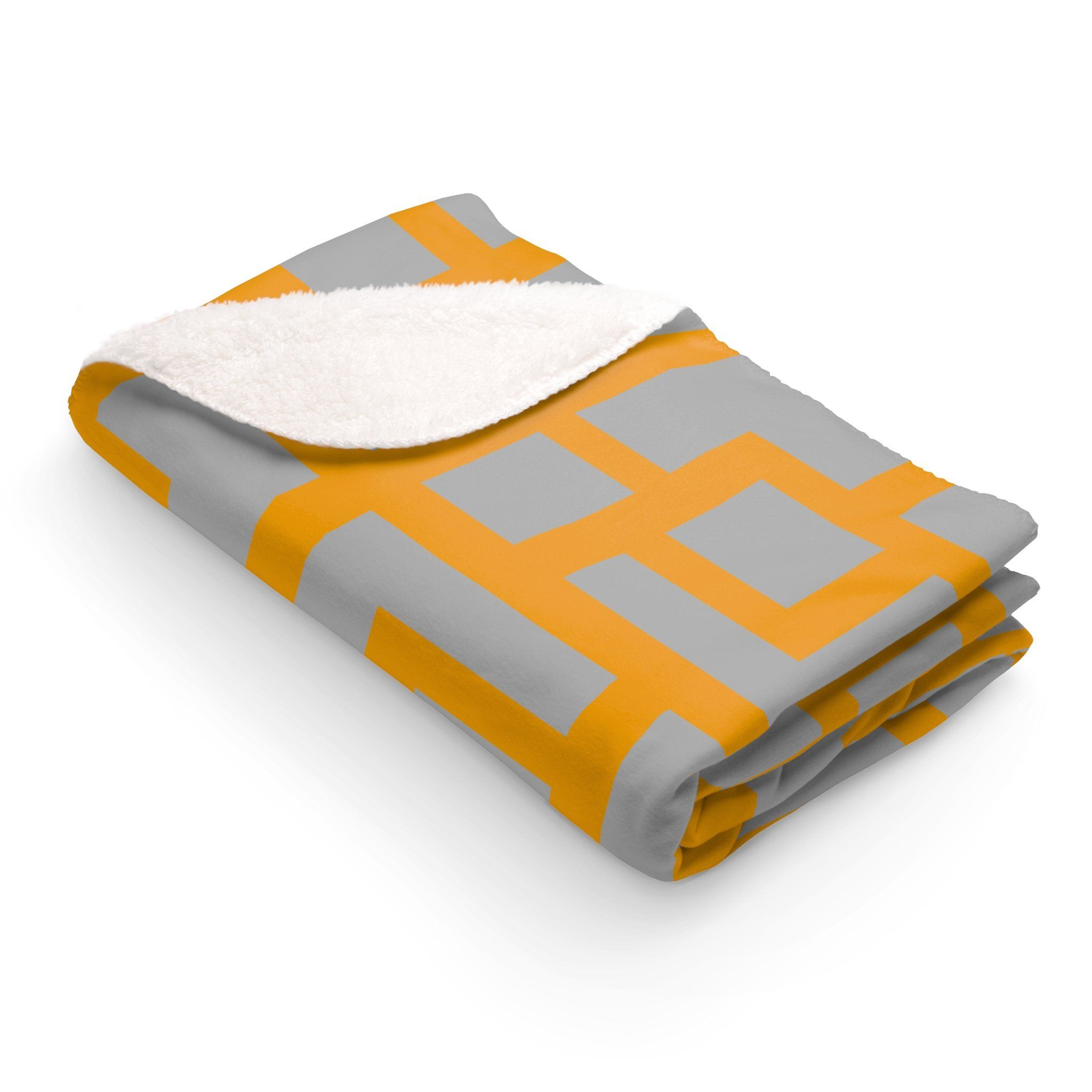 Maison duelite geometric sherpa fleece blanket blanket and products