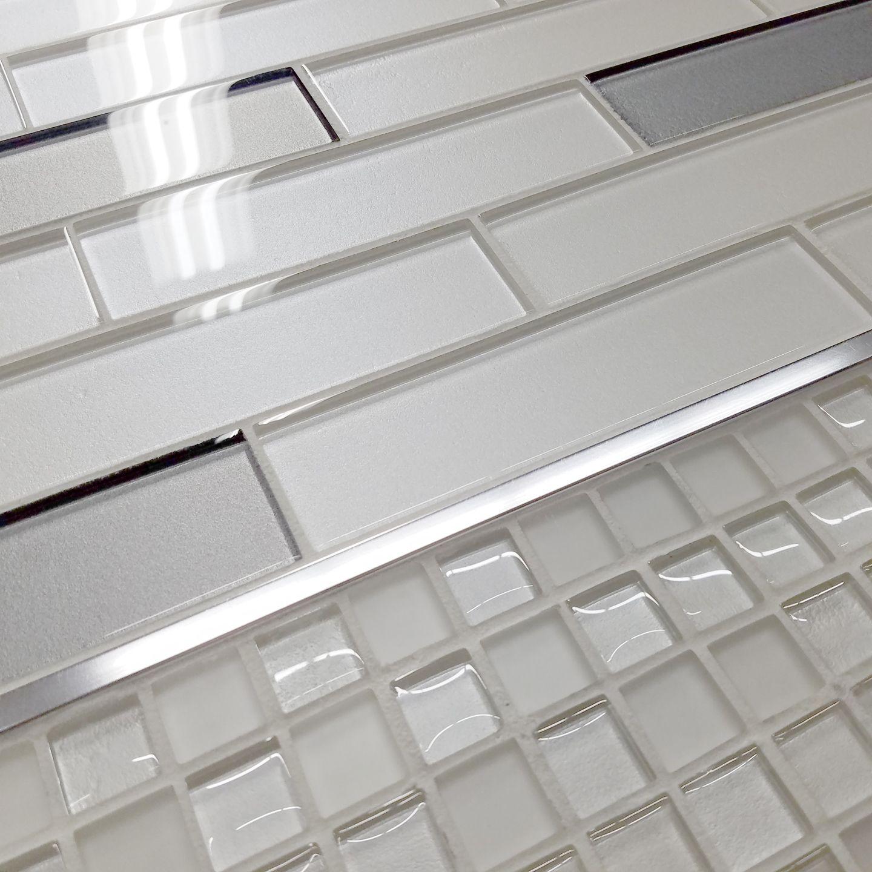 I M Dreaming Of A White Tile Glass Backsplash Glass Tile