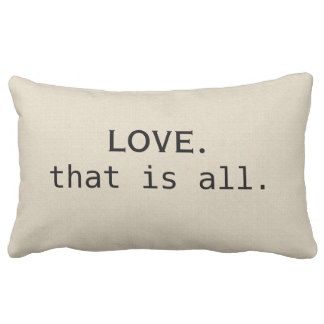 Love Is For All Pillows - Love Is For All Throw Pillows | Zazzle