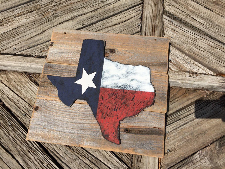 Rustic Texas Flag Wall Hanging Etsy Rustic Texas Flag Wall Hanging Flag