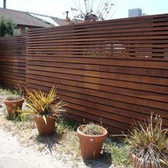 Unique And Modern Design Garden Fence Wood