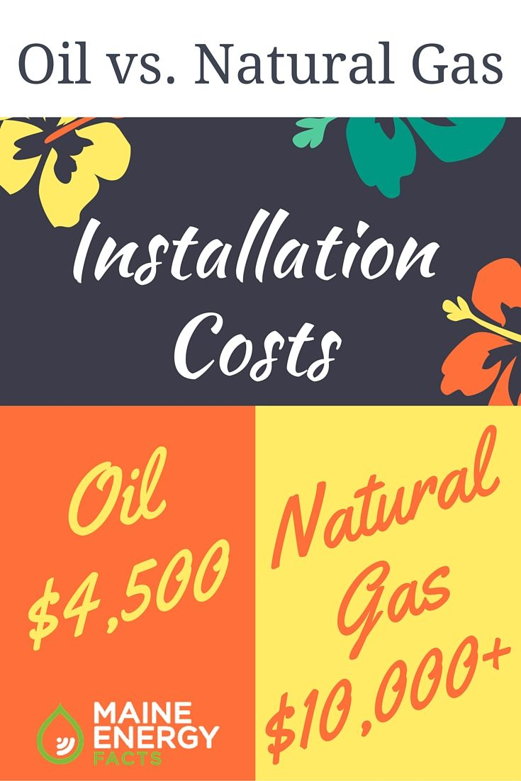Switching From An Oil Heating System To A Natural Gas Heating