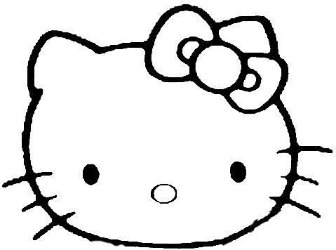 Hello Kitty Cheerleader Coloring Pages