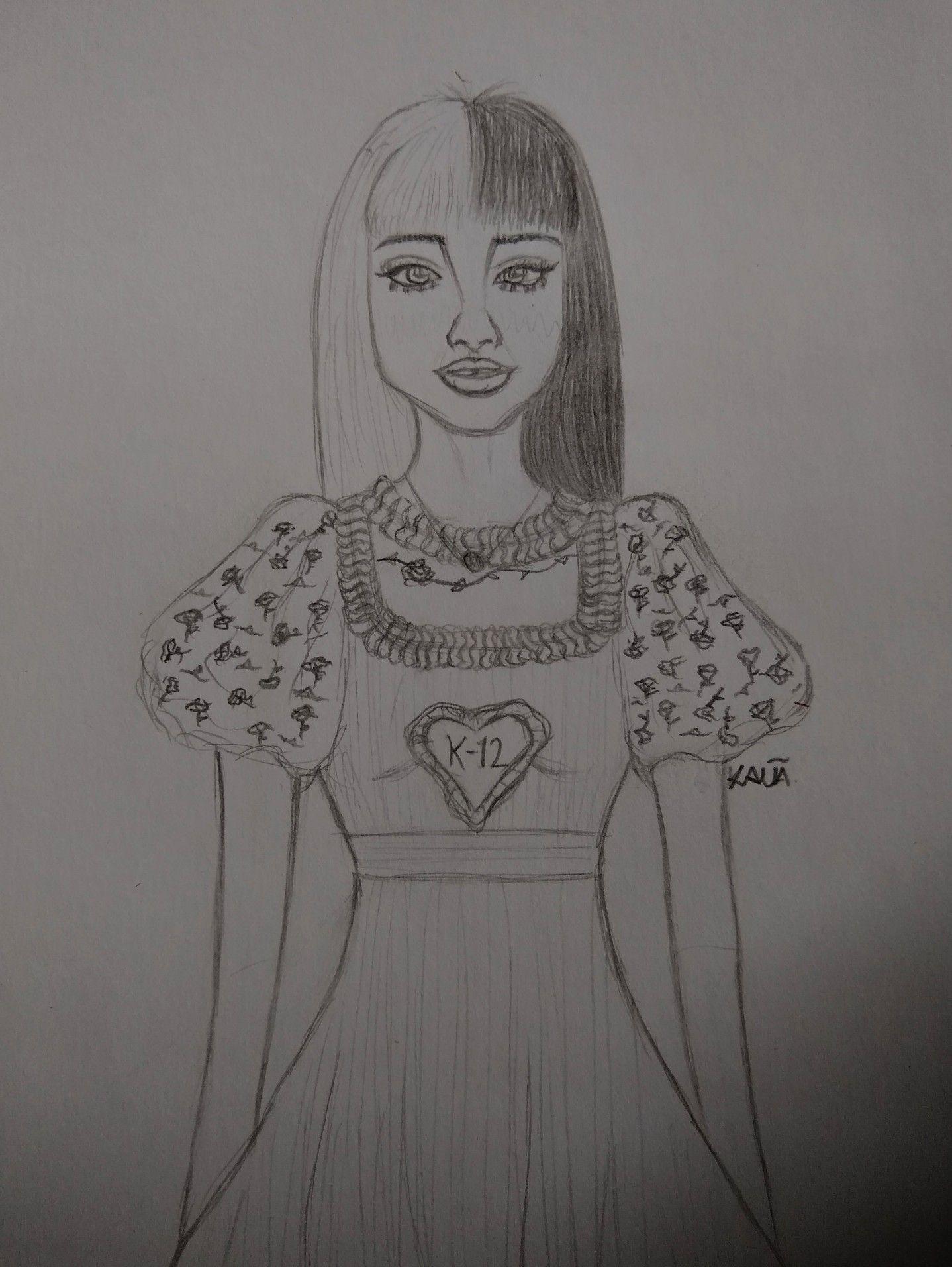 Melanie Martinez K 12 Draw Zeichnen