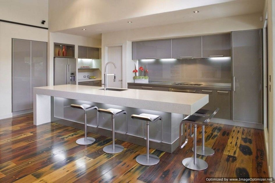 Inimitable Modern Kitchen Island Chairs Using Stainless Steel Low Back Swivel Ba Contemporary Kitchen Island Modern Kitchen Island Modern Kitchen Island Design