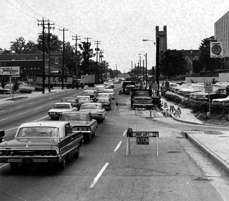 Flashback Photos Freeing Atlanta's freeways in 2020 Photo