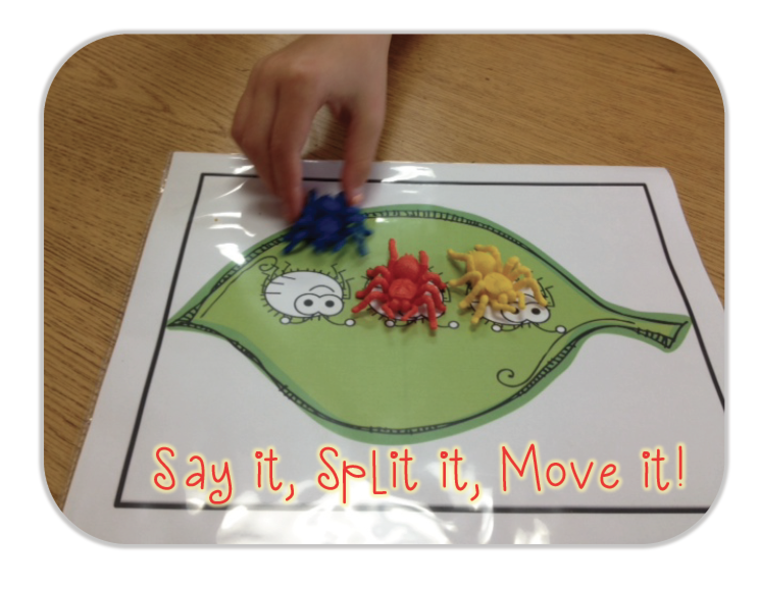 A Class Y Collaboration Segmenting Words Freebies