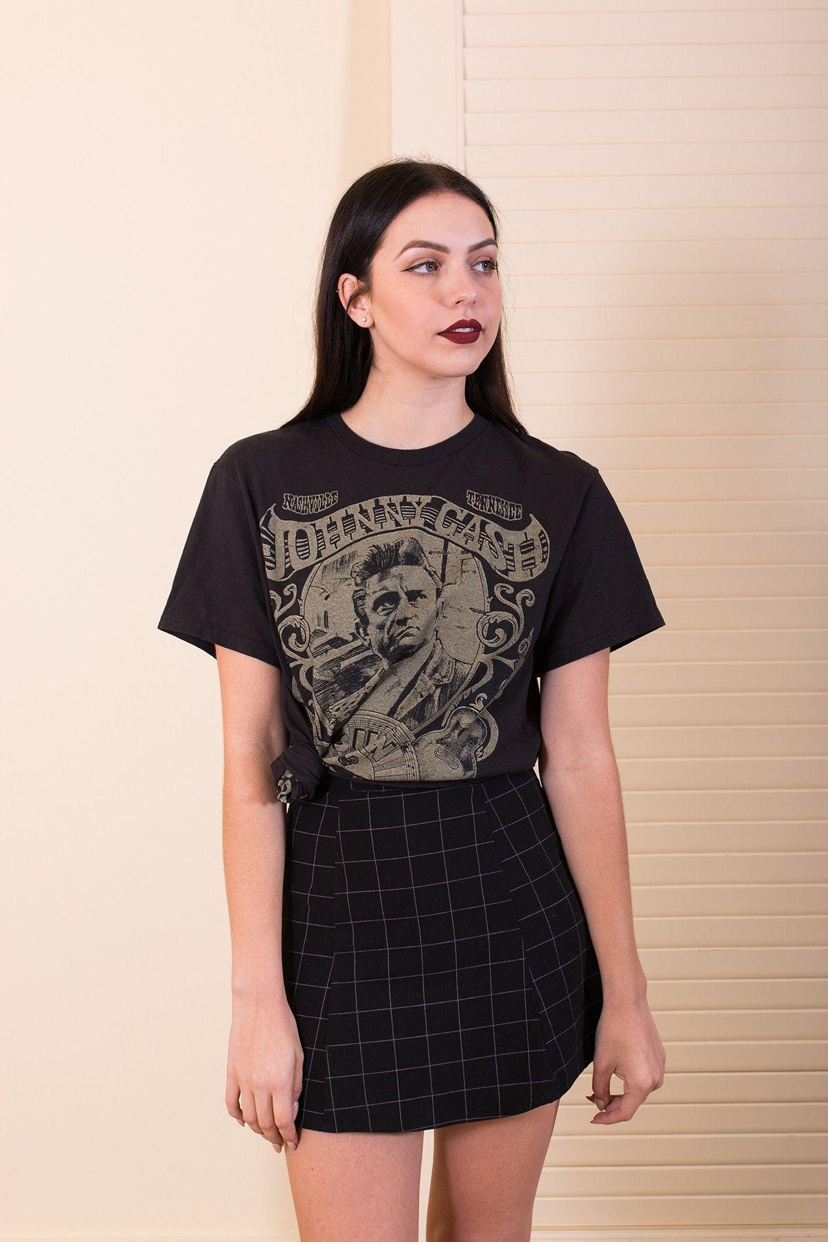 AuBergewohnlich Explore Camiseta De Banda, Johnny Cash E Muito Mais!