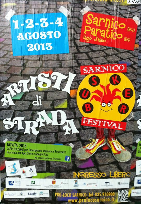artisti di strada http://www.panesalamina.com/2013/14852-artisti-di-strada-a-sarnico-e-paratico.html