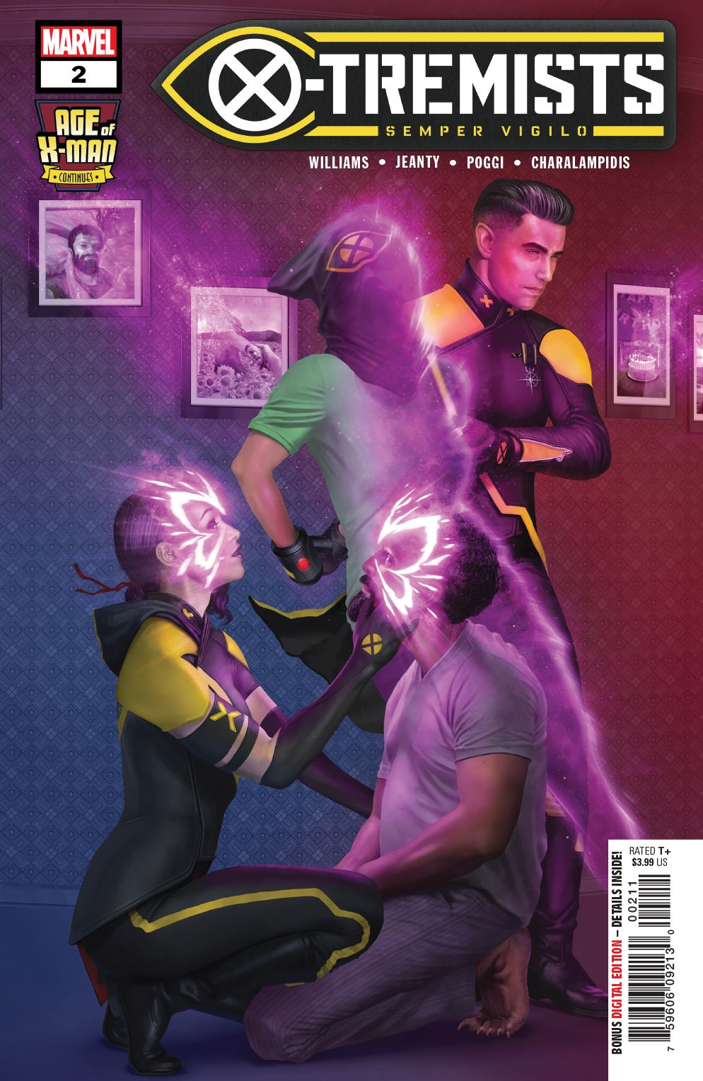Psylocke And Blob Begin Their Love Story In Age Of X Man X Tremists 2 Marvel Comics Psylocke X Man