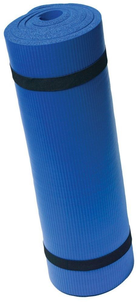 New Harbinger Ribbed Durafoam Exercise Yoga Mat 5 8 Inch Mat Exercises Yoga Mat Print Yoga Mat