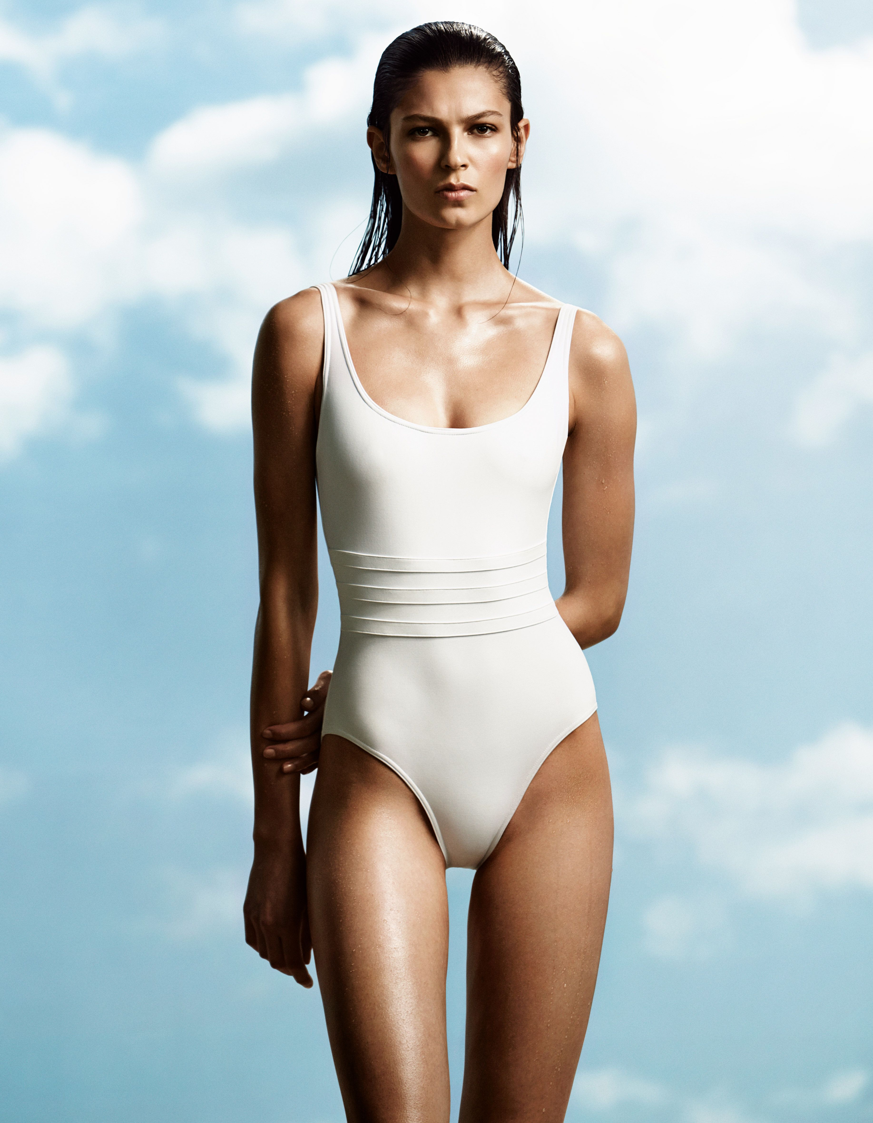 42bd5889326 Modern Glamour: Eres Asia One-Piece Tank Swimsuit | Well Suited ...