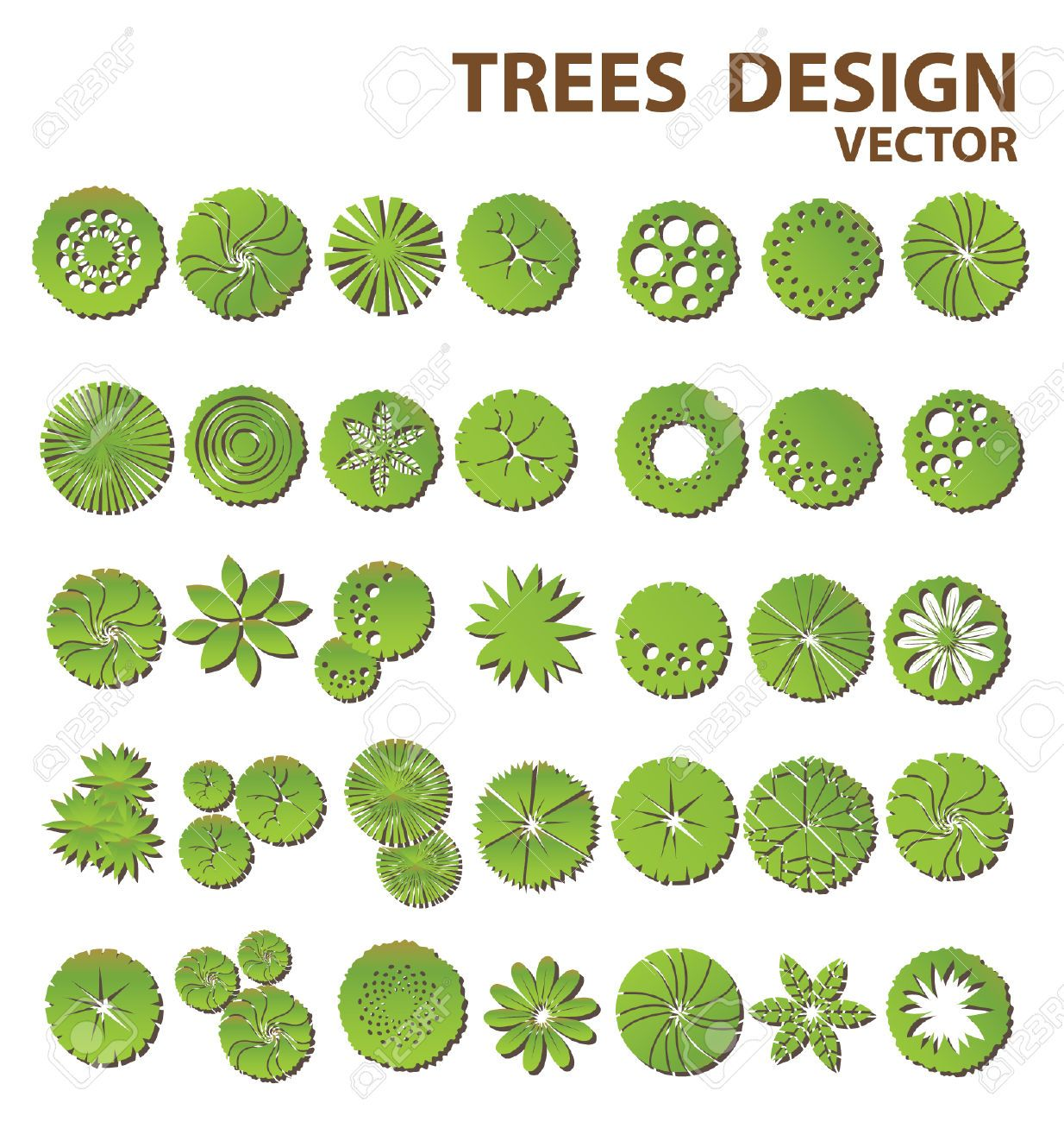 How to draw landscape design plot plans google search for Landscape design icons