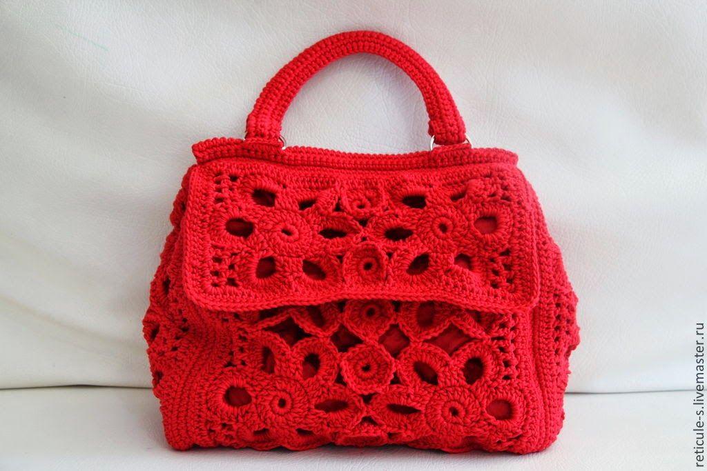 Sidney Artesanato: Bolsa charmosa...