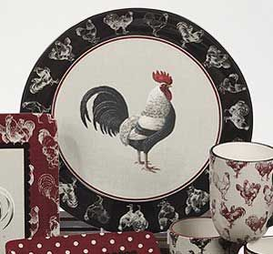 Country Rooster Dinnerware by Certified International. The Country Rooster collection features rooster artwork by & Country Rooster Dinnerware by Certified International. The Country ...