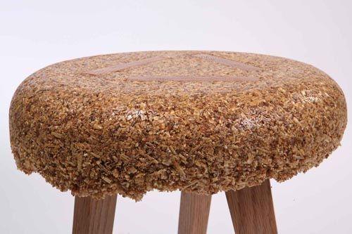 Shavings By Yoav Avinoam Recycled Wood Furniture Wood Resin Wood
