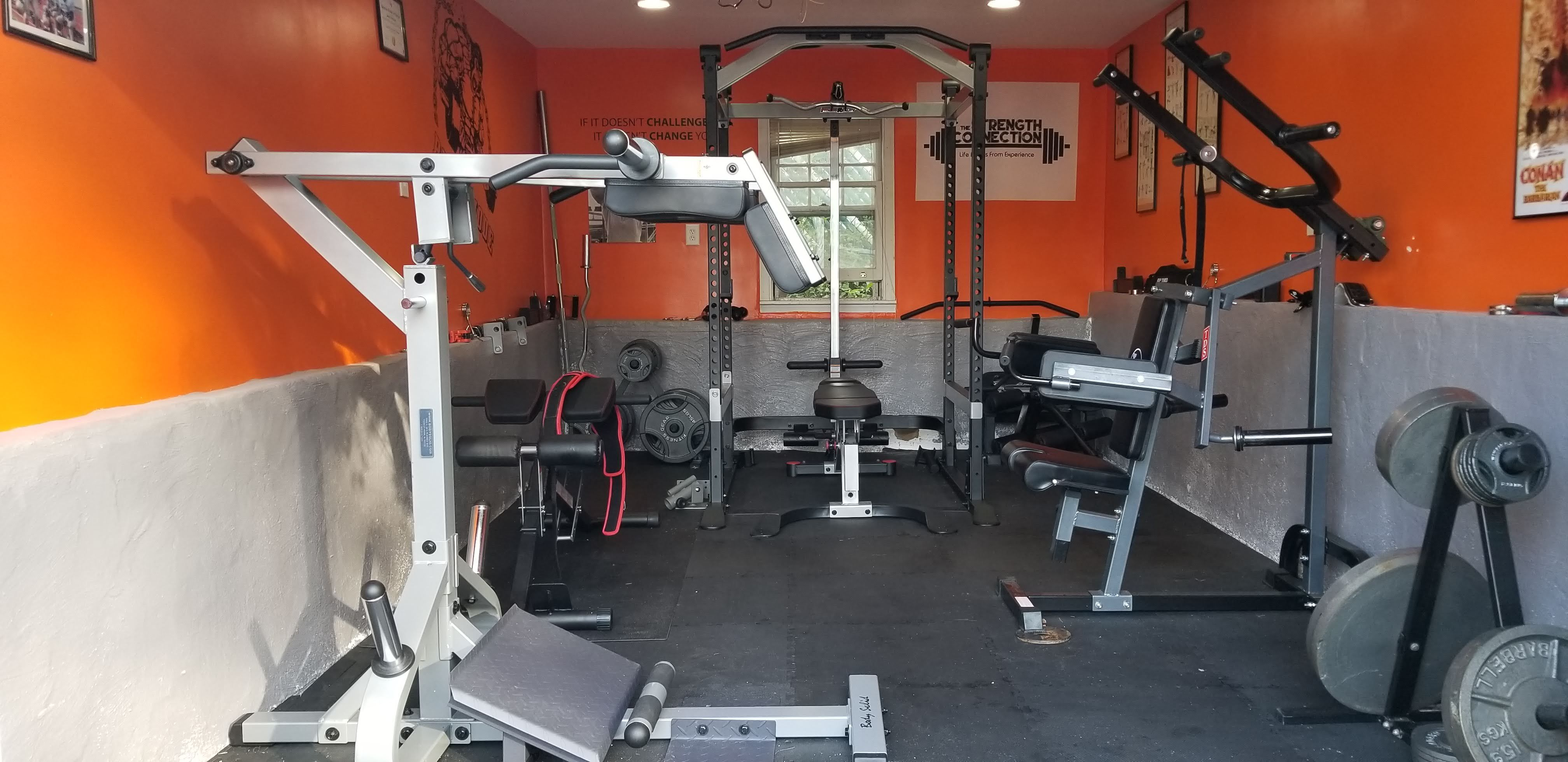 Garage Gym Fitness Studio Garage Gym Gym