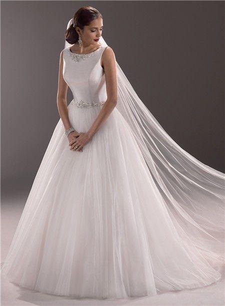 Modest Ball Gown Wedding Dresses Modest Princess Ball Gown