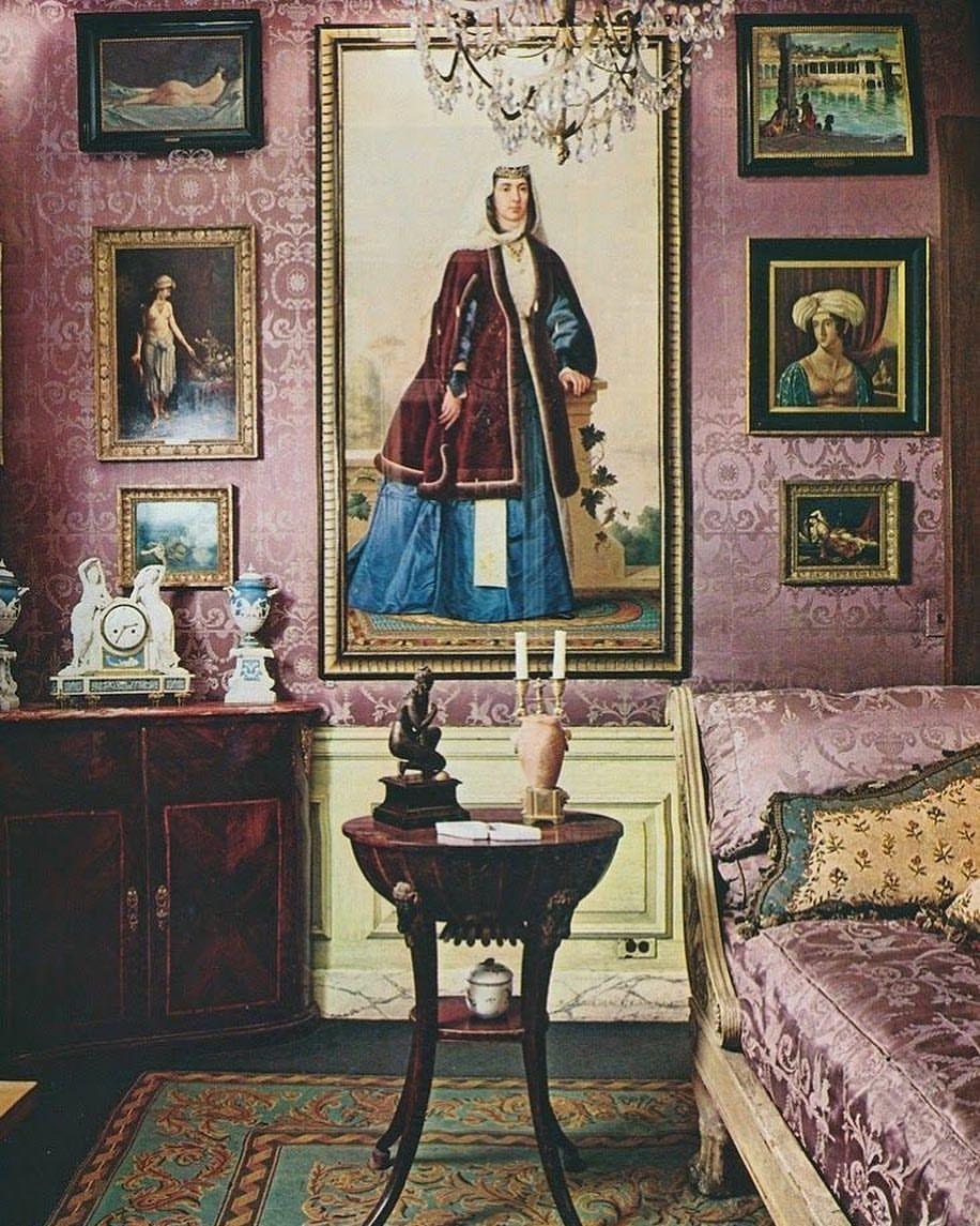 Interieur Passion Home Textiles bedroomrobert denning & vincent fourcade