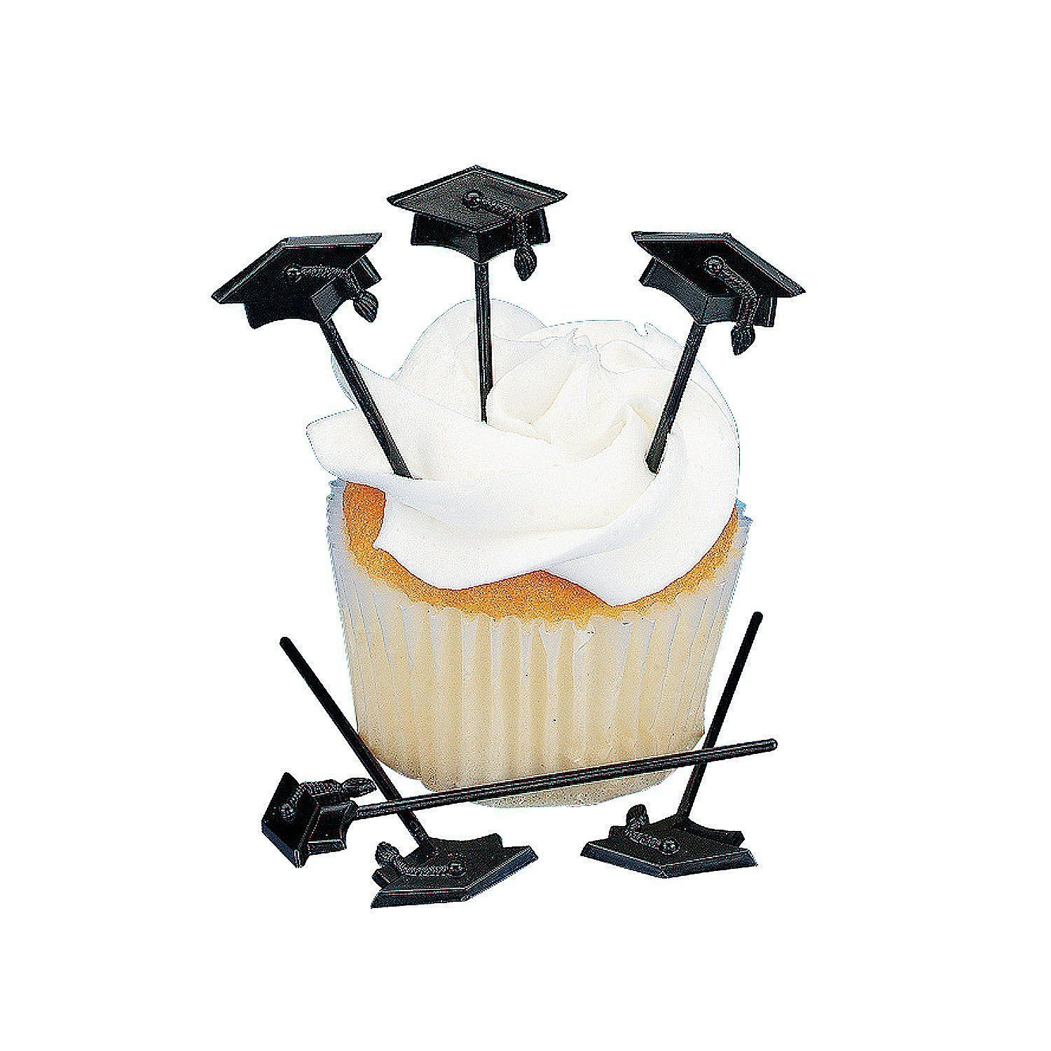 72 pc Graduation Cupcake or Appetizer Picks: Graduation Gift